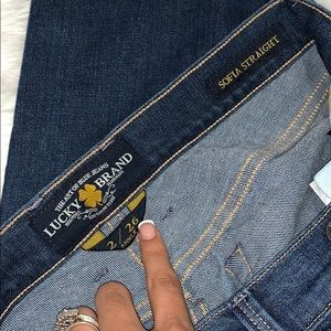 Lucky Brand Jeans - LUCKY BRAND SOFIA STRAIGHT ANKLE JEANS SIZE 2/26